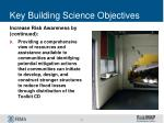 key building science objectives4