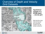 overview of depth and velocity grid datasets8