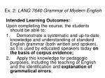 ex 2 lang 7640 grammar of modern english