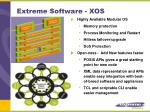 extreme software xos