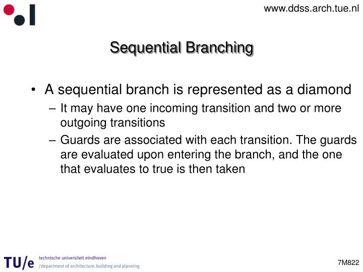 Sequential Branching