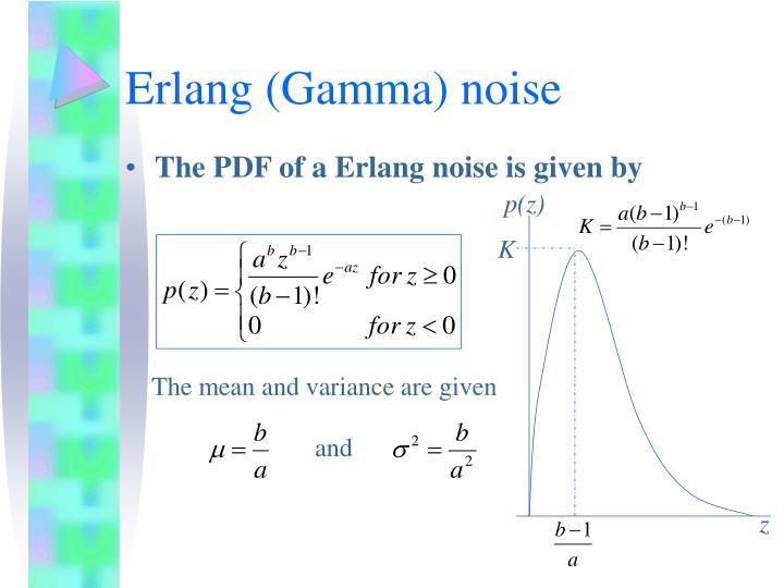 Erlang (Gamma) noise