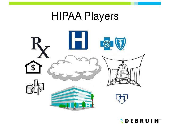 HIPAA Players