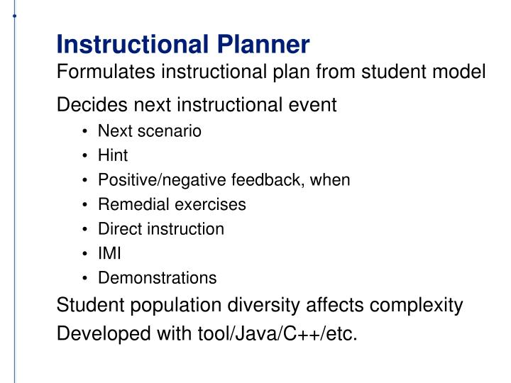 Instructional Planner