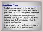 kernel load phase1