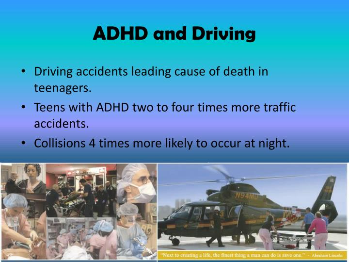ADHD and Driving