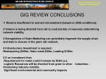 grain infrastructure group review conclusions