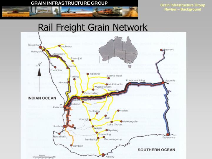 Rail Freight Grain Network