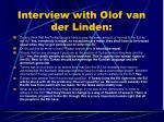 interview with olof van der linden1