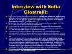 interview with sofia giostrelli1