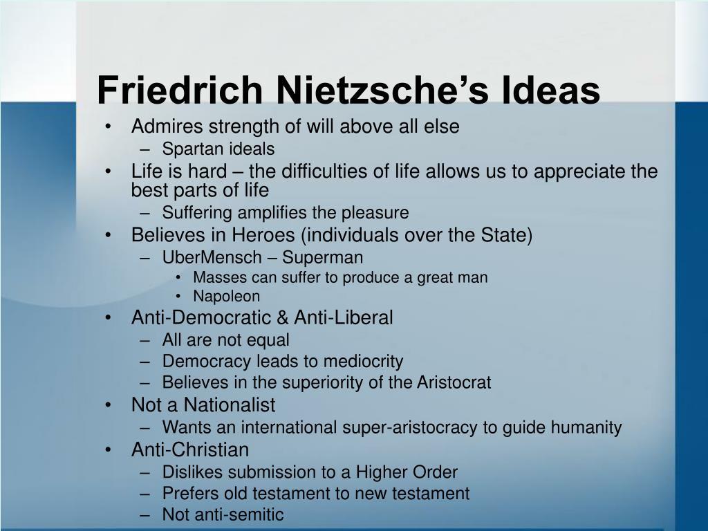 Friedrich Nietzsche's Ideas