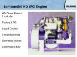 lombardini hd lpg engine