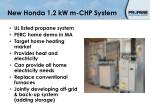 new honda 1 2 kw m chp system