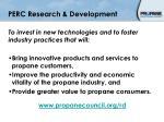 perc research development