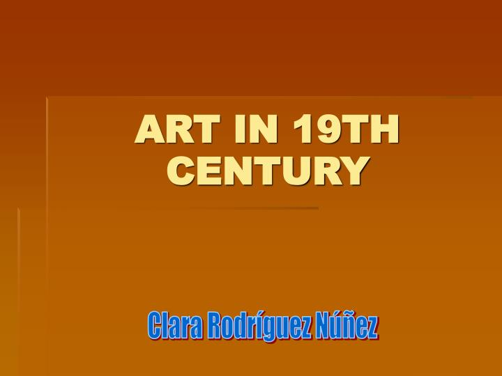 Art in 19th century l.jpg