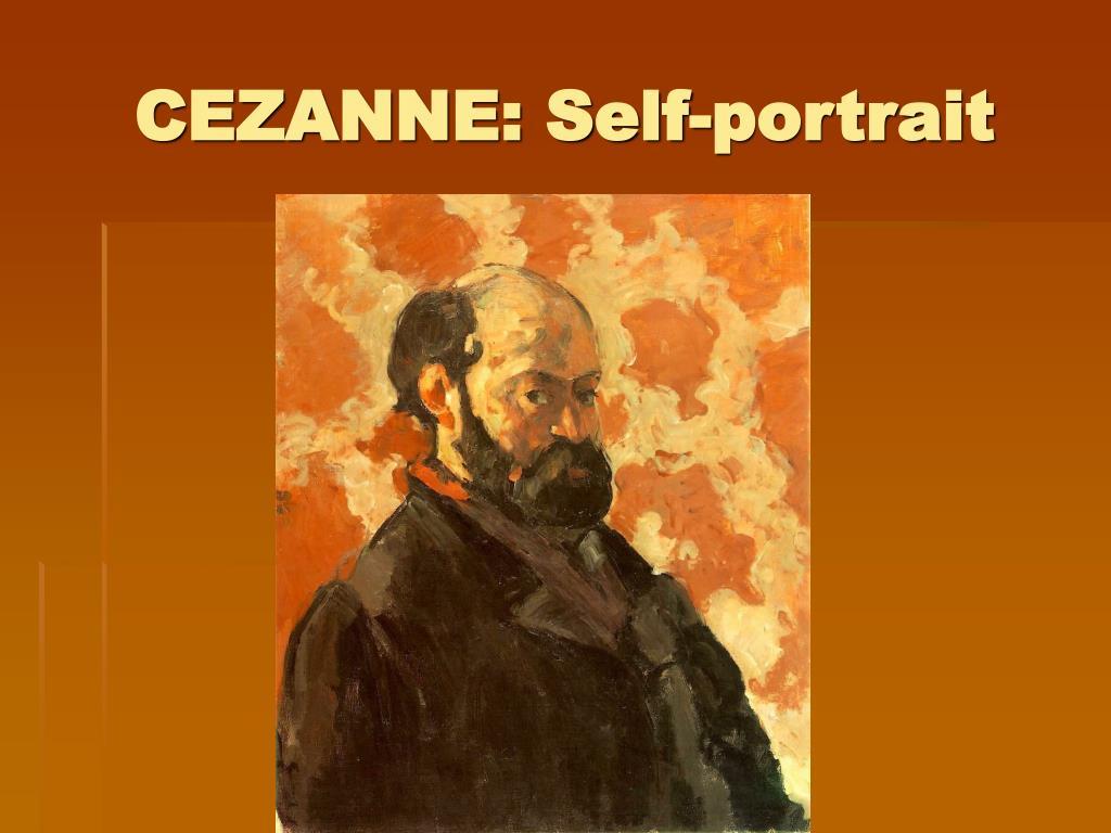 CEZANNE: Self-portrait