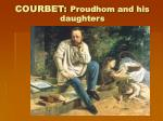 courbet proudhom and his daughters