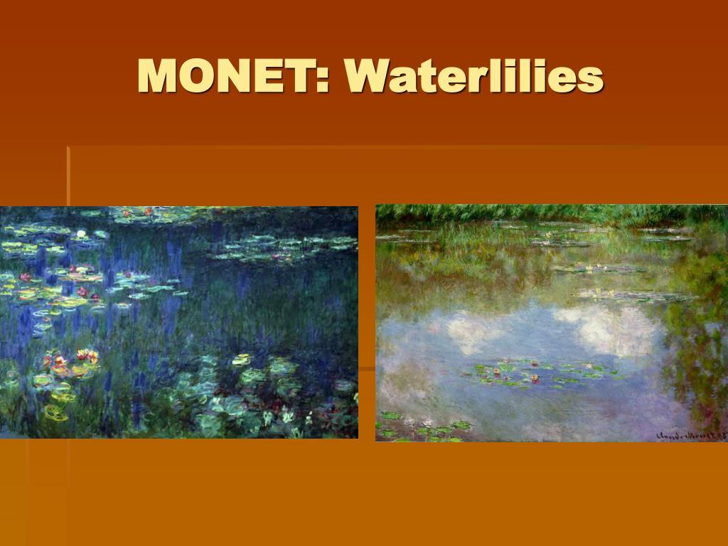 MONET: Waterlilies