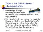 intermodal transportation containerization1