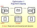 optimization 1 argument copying