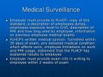 medical surveillance32