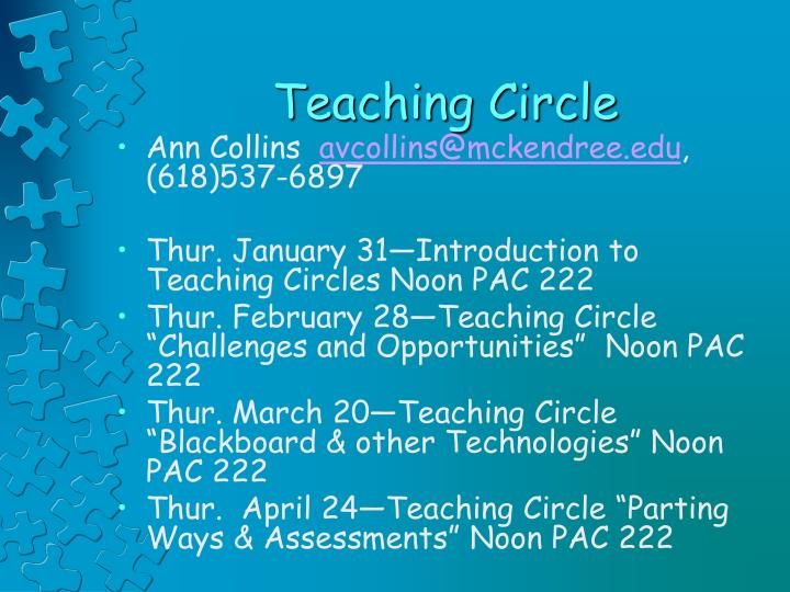 Teaching Circle
