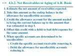 4 b 2 net receivables or aging of a r basis