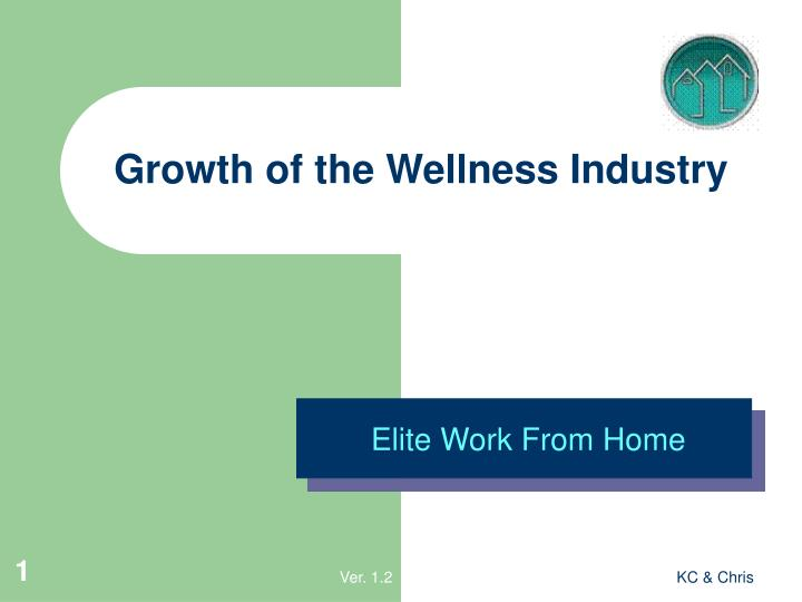 Growth of the wellness industry