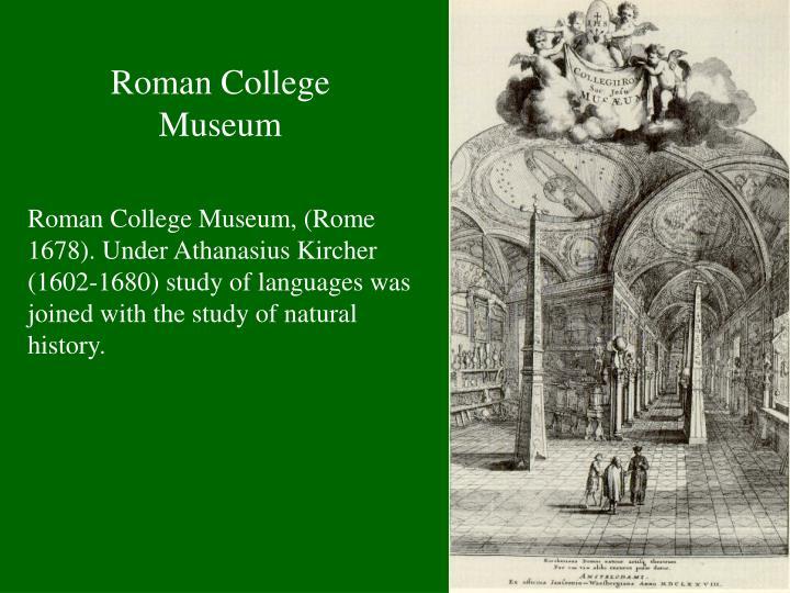 Roman College Museum