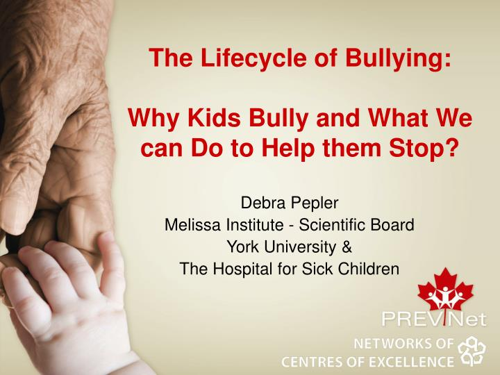 the lifecycle of bullying why kids bully and what we can do to help them stop