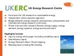 uk energy research centre