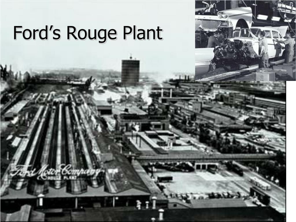 Ford's Rouge Plant