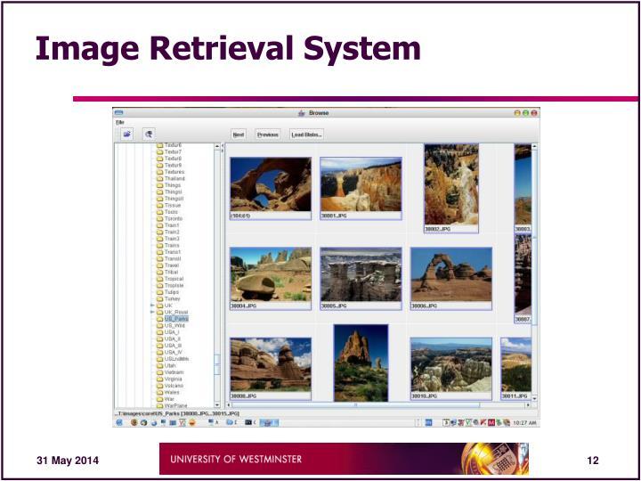 Image Retrieval System