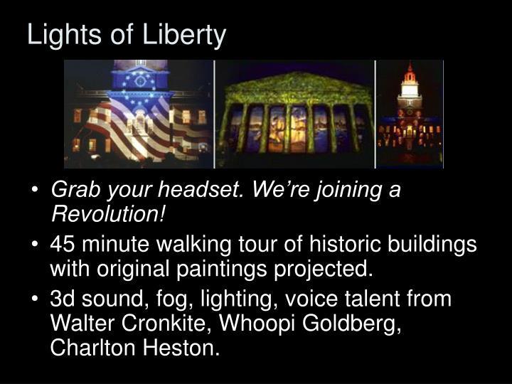 Lights of Liberty