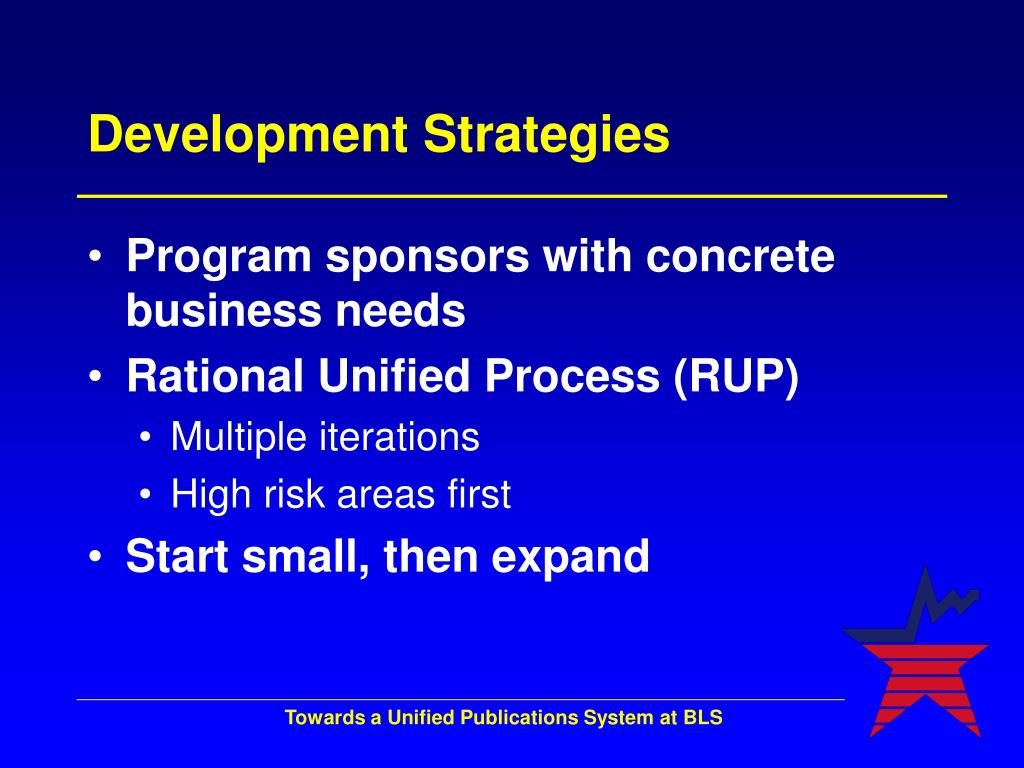 Development Strategies