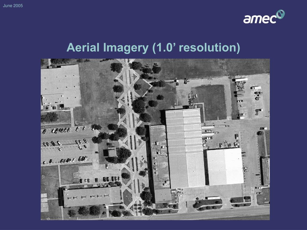 Aerial Imagery (1.0' resolution)