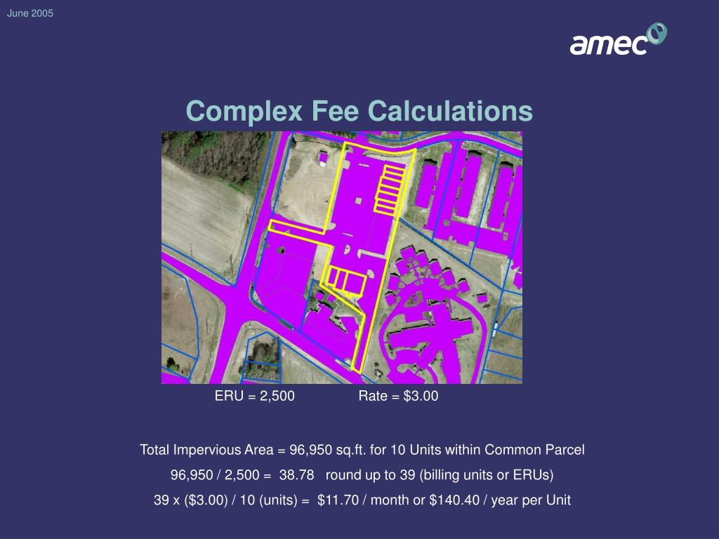 Complex Fee Calculations