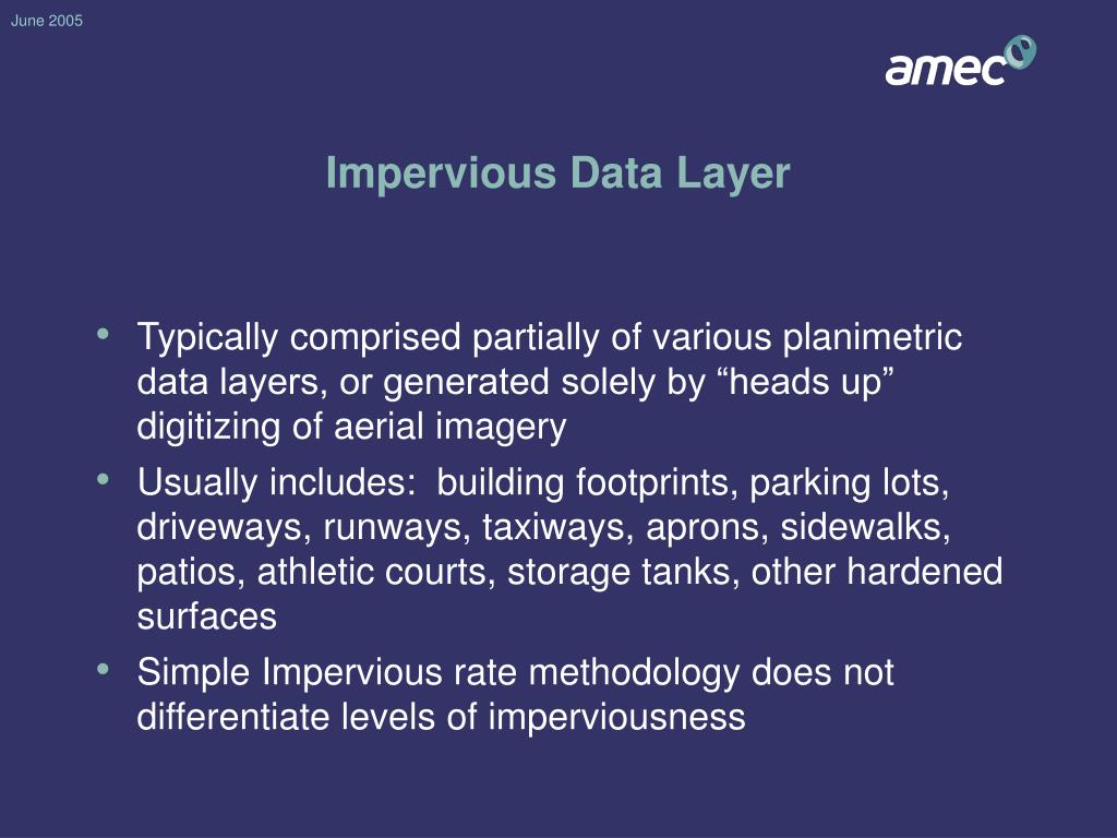 Impervious Data Layer
