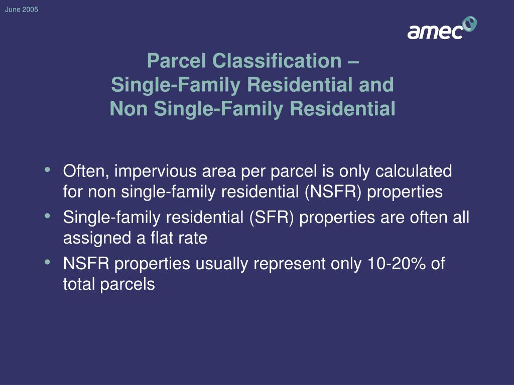 Parcel Classification –
