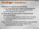 bindings solutions i