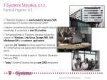 t systems slovakia s r o facts figures 1 2