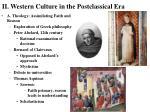 ii western culture in the postclassical era