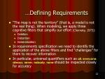 defining requirements12
