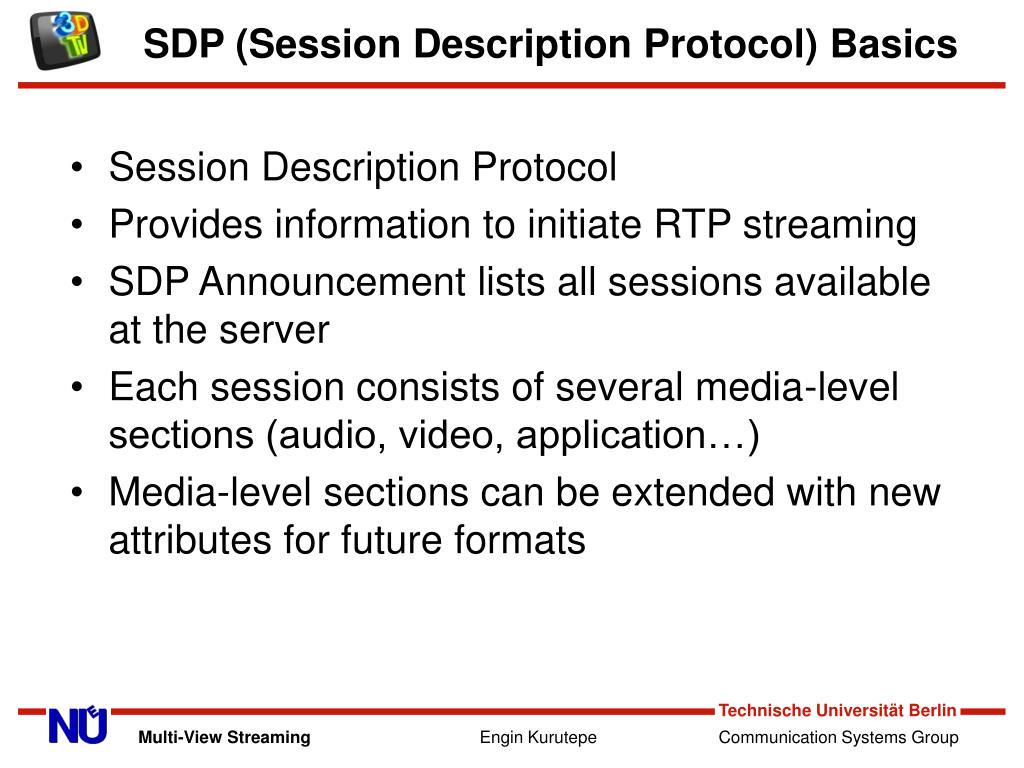 SDP (Session Description Protocol) Basics