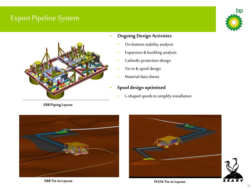 Export Pipeline System