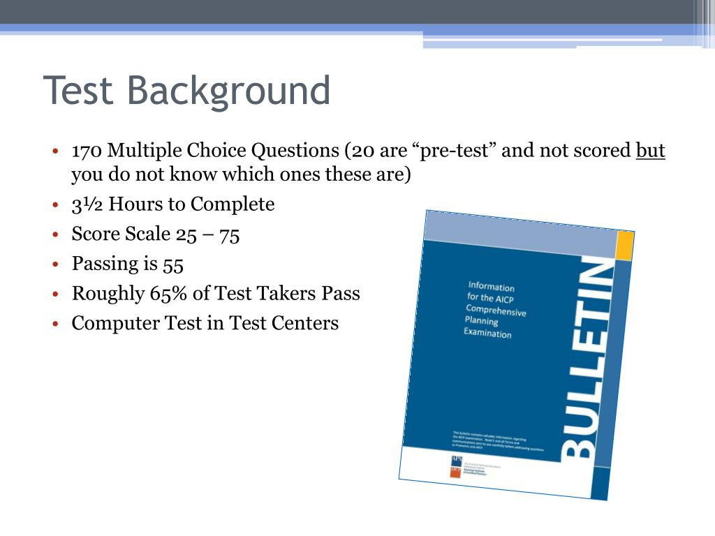 Test Background