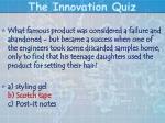 the innovation quiz16