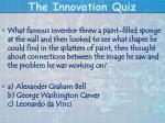 the innovation quiz17