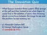 the innovation quiz18