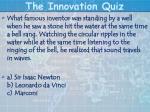 the innovation quiz19